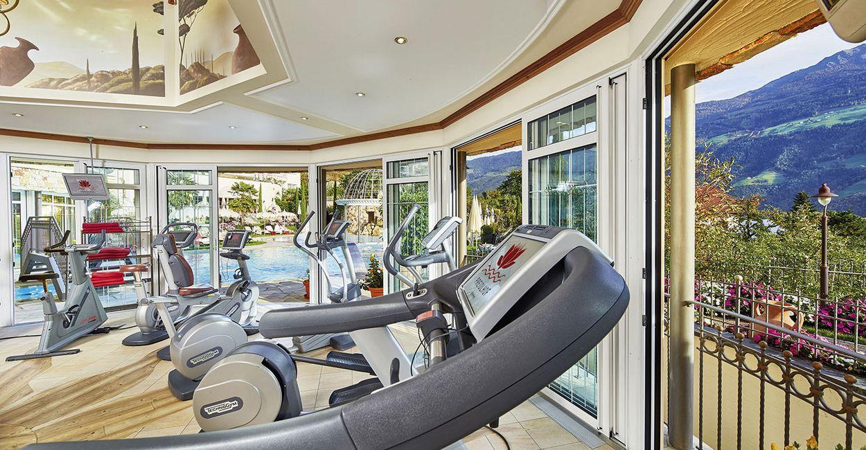 Fitnessbereich Hotel Preidlhof