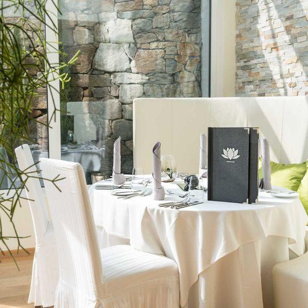 Gourmetrestaurant_Dolce_vita_stube_Gourmetküche_haubenrestaurants_südtirol_nachhaltige_hotels_gourmethotel_Südtirol_Hotel_für_feinschmecker
