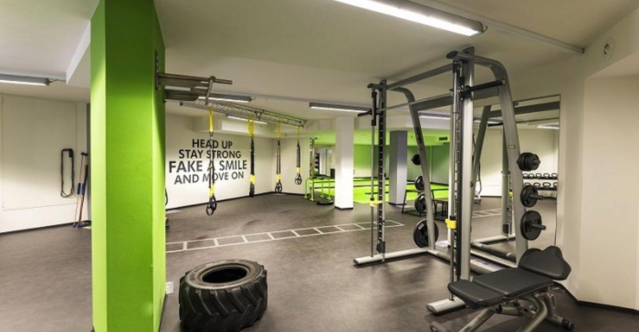 Fitnesshalle