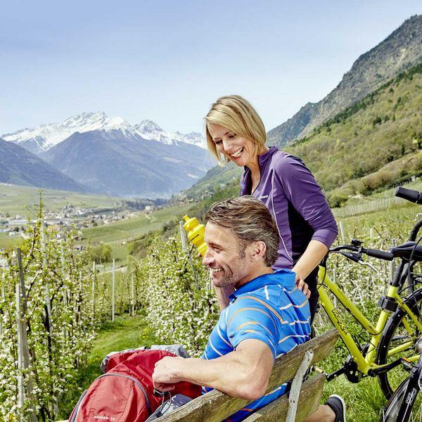 Genussradltour_obstgärten_citybike_naturns_aktivurlaub_südtirol_genussradfahren_bike_in_südtirol_bikehotel_sport_hotel