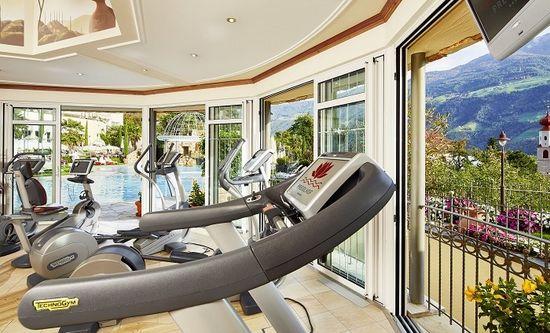 Fitnessraum im Hotel Preidlhof