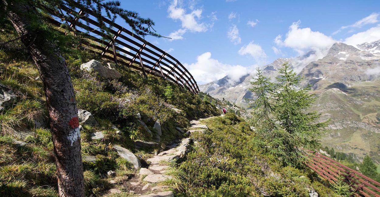 Lanschaftsbild Naturpark Texelgruppe