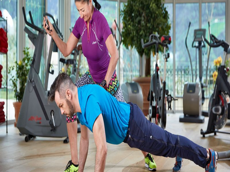 Personal Training im Fitnesscenter