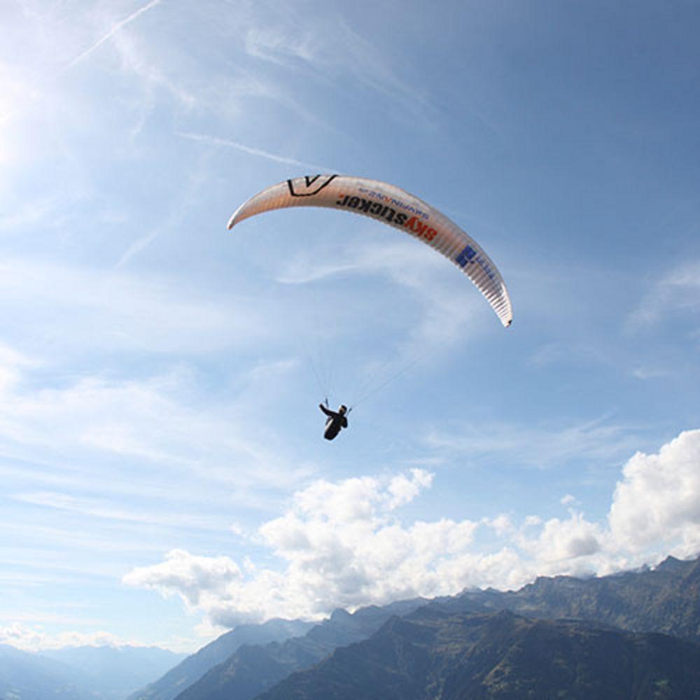 Paragleiten in Südtirol