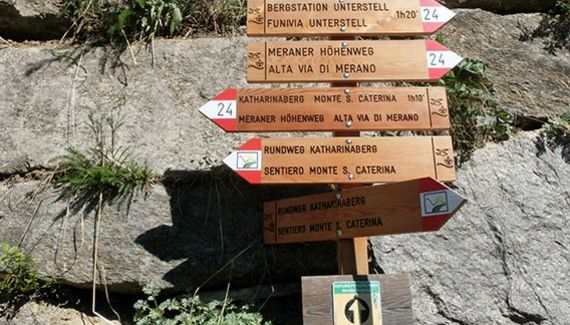 Meraner <b>Höhenweg</b>