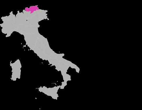 Map Italien