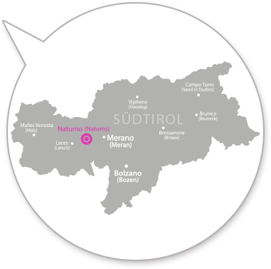 Map Suedtirol