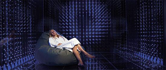 3 D Relaxraum