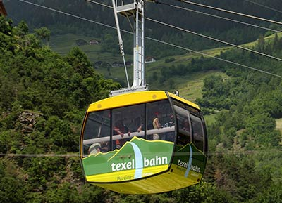 Cable railway in Texel