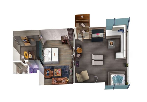 Penthousesuite DolceVita Star XL