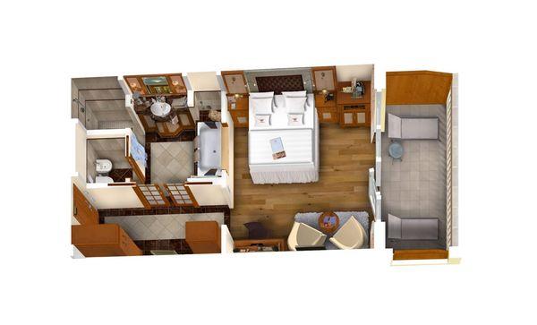 Luxury Suite Lavendel